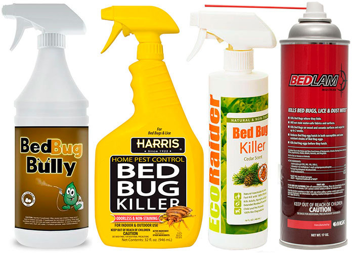The Best 4 Bed Bugs Sprays