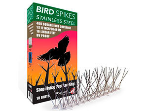 Aspectek steel bird spikes