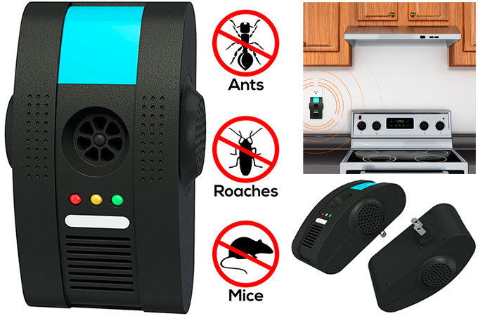 Pest Control Ultrasonic Repellent by BugzOff