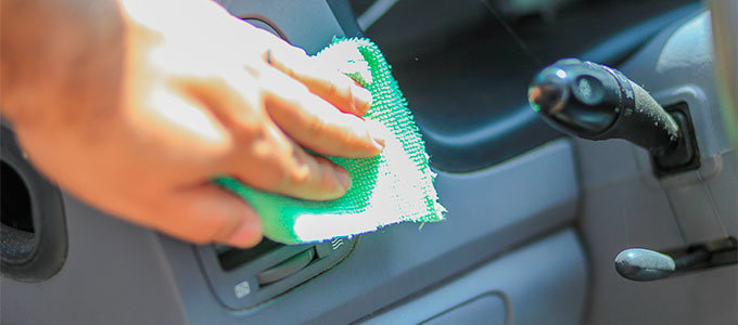 Cleaning interior