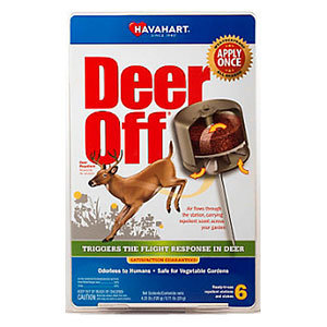 Havahart Deer Off repellent stations