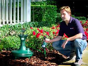 Spray Away Elite II – Electronic Motion Activated Sprinkler