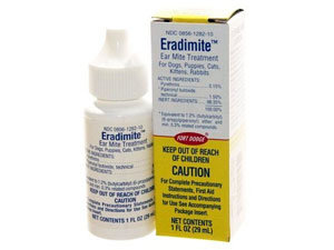 Eradimite ear mite treatment