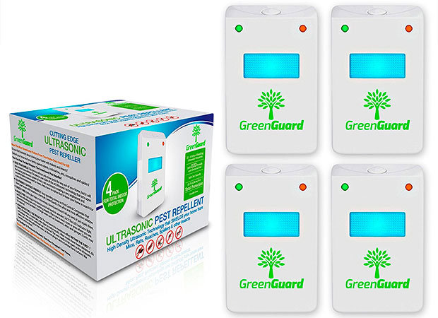 Ultrasonic pest repeller by GreenGuard