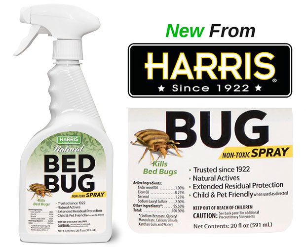 Natural Bed Bug Spray by HARRIS