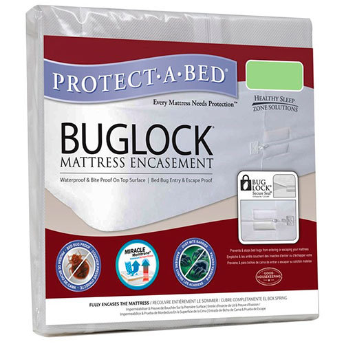 Buglock Mattress Encasement by Healthy Sleep