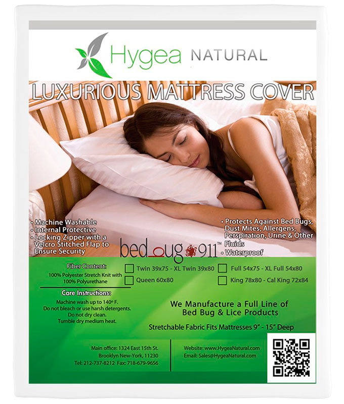 Mattress cover by Hygea Natural