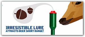 Irresistible lure attract deer short range!