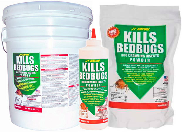 Kills Bedbugs by JT Eaton
