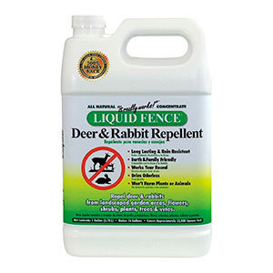 Deer repellent by Liquid Fence