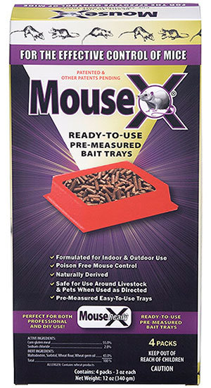 MouseX Bait Trays