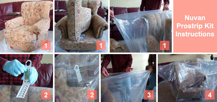 Nuvan Prostrip Instructions for Upholstered Furniture