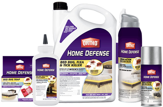 Ortho Home Defence products