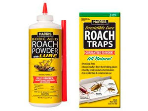 Roach traps and powder