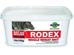 Rodex: baits for voles