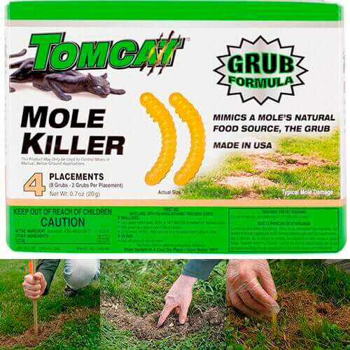 Grub Formula of Tomcat Mole Killer