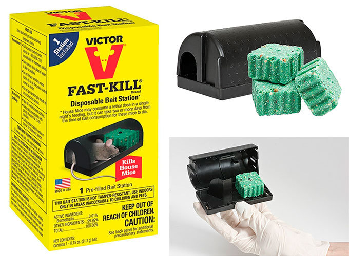 Fast-Kill Bait Station by Victor